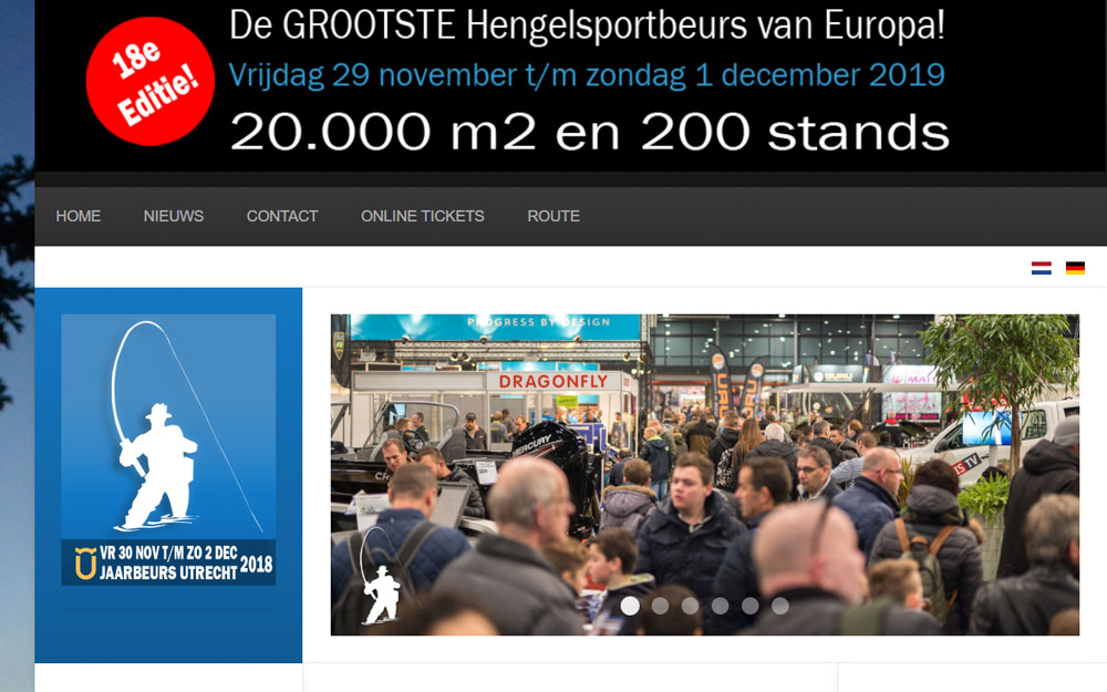 Hengelsport en Visbotenbeurs Utrecht 2018!